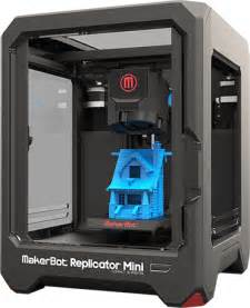 3d Printing Replicator Mini Compact 3d Printer Makerbot