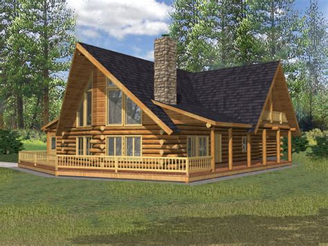 Rustic Log House Plans by Crested Butte Rustic Log Home Plan 088d 0324 House Plans