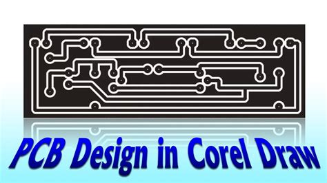 pcb design tutorial youtube pcb design in corel draw electronics projects fast