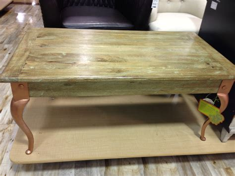 How To Stain A Coffee Table Olive Green Stained Coffee Table With Copper Legs Fresh Vintage Nc