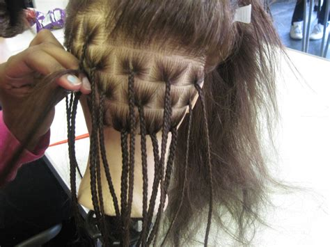 natural hair in plaits single plaits natural hair worldofbraiding blog