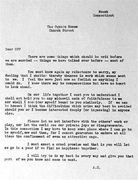 Letter To Fiance Before Wedding Amelia Earhart Post 177 Every Morning