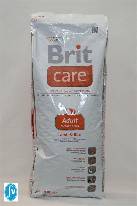 caring breeds brit care junior large breed rice farmavet