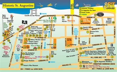 st augustine map st augustine florida attractions newhairstylesformen2014