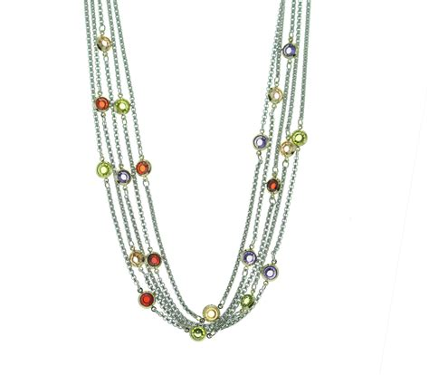 multi strand multi color multi strand necklace best of everything