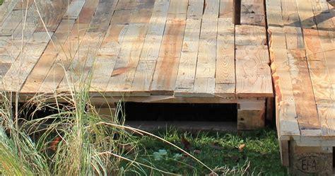 Réaliser Une Terrasse En Bois 3624 by Terrasse Et Pergola En Palette Et Bois De R Cup Ration