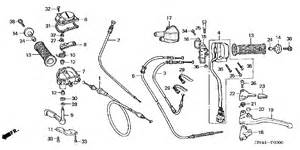 Honda 350 Rancher Parts Honda Rancher 350 Parts Diagram Source Tuningpp Honda