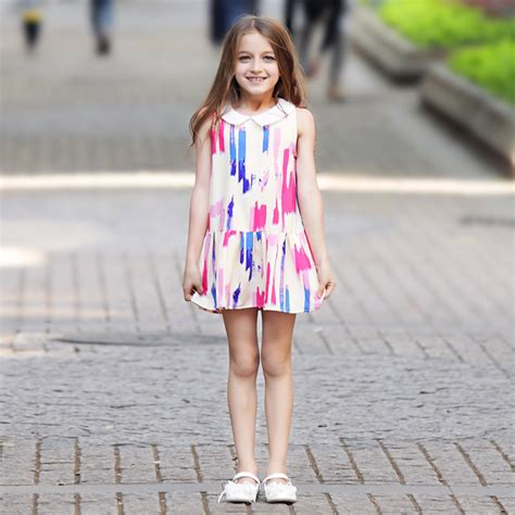 buy baby dress frock designs denim clothing age 2 3 4 5 6 7 8 9 10 11 12 years