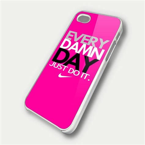 Iphone 4 4s Nike Just Do It Yellow Iphone Hardcase every damn day just do it nike pink iphone 4 iphone 4s