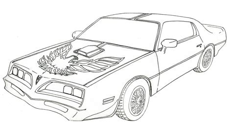 Smokey The Coloring Pages quot firebird quot trans am by bvw on deviantart