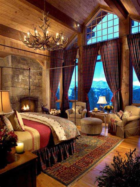 Lodge Bedroom Decorating Ideas by 22 Inspiring Rustic Bedroom Designs For This Winter