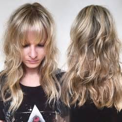 images of haircuts with bangs that cover the forehead 50 cute long layered haircuts with bangs 2017
