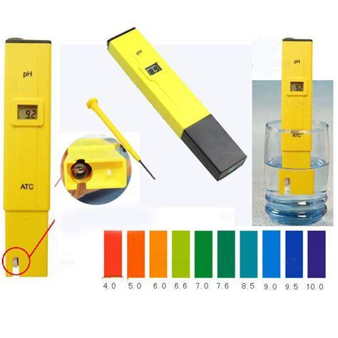 test ph acquario digital ph meter tester pocket aquarium pool water wine