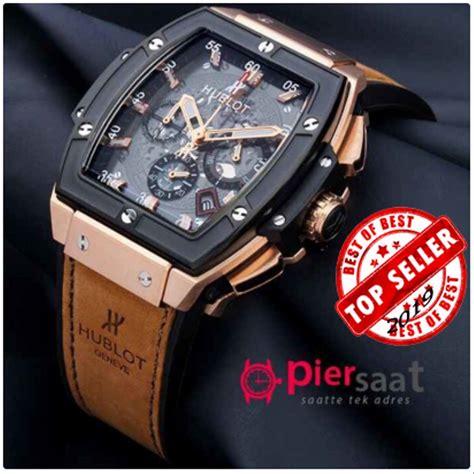 jual jam tangan pria keren original merk senna  leather