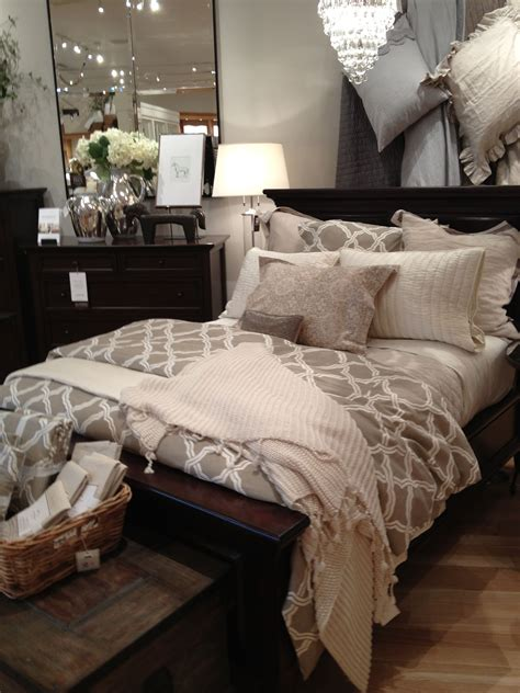 love  pottery barn bedding master bedroom ideas