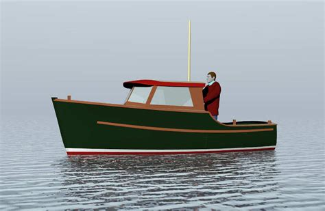 displacement fishing boat plans planing and semi displacement power boats under 29 tad