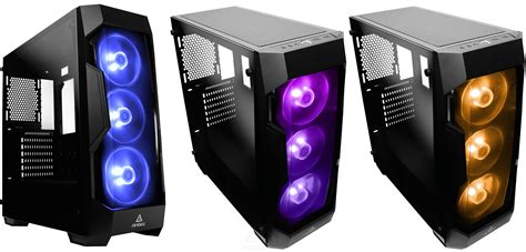 iluminacion rgb antec df500 rgb chasis pensado para los amantes de la