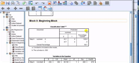 spss tutorial correlation and regression spss for newbies interpreting the coefficients of a