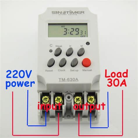 intermatic mechanical timer wiring diagram intermatic