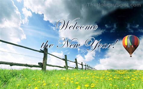 welcome the new year 2560x1440