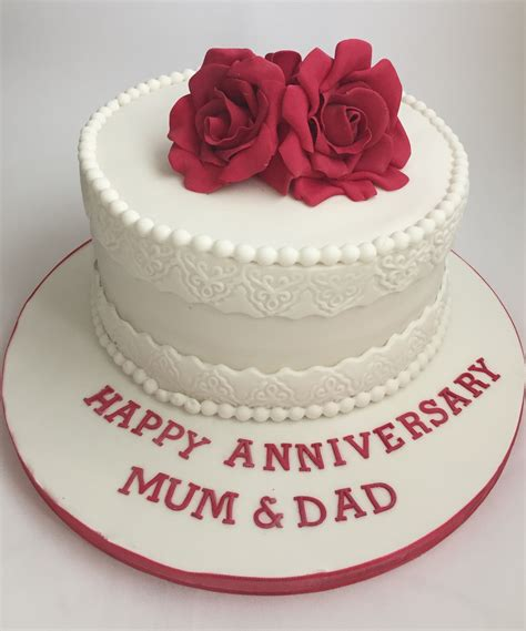 Wedding Anniversary Cake Images by Pin Anniversary Cake Crochet Pattern Cake