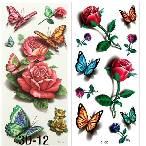 small rose tattoos reviews online shopping small rose