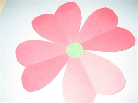Make Construction Paper Flowers - info how to make paper flowers with construction paper