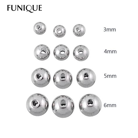 how big is 4mm bead aliexpress buy 50pcs stainless steel 3mm 4mm