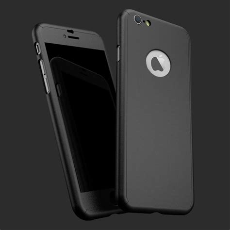 3in1 Casing Iphone 8 Hardcase 360 Cover Premium Black hybrid new shockproof tempered glass cover for apple iphone 8 7 6 5 se plus ebay