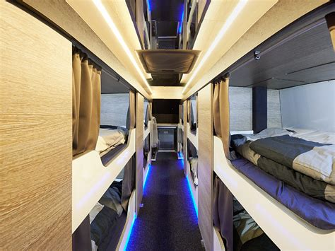Sleeper Coach by Image Gallery Luxury Sleeper Tour Buses