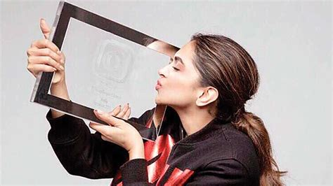 actress deepika padukone instagram an insta award for deepika padukone