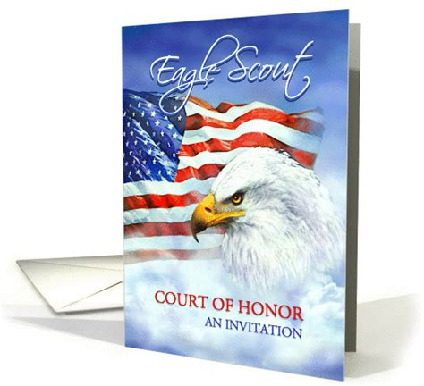 blank eagle scout cards templates free eagle scout court of honor invitation eagle and american