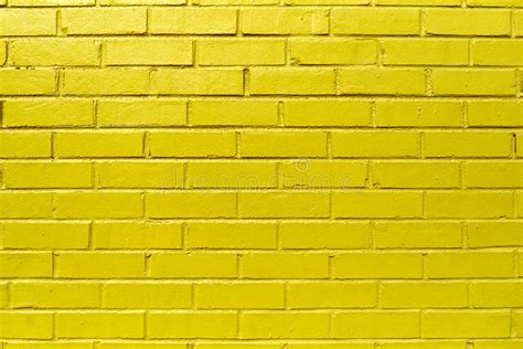 Bright Yellow Wall