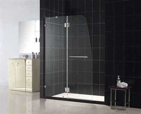 Aqua Glass Shower Door Dreamline Showers Aqualux Hinged Shower Door