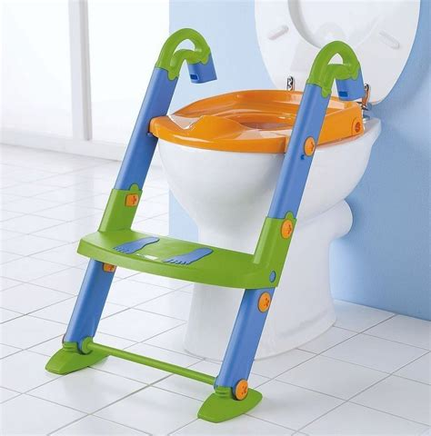 potty seat with ladder toilet potty chair seat toddler kid child fold