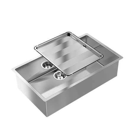 Bunnings Kitchen Sink Abey 770 X 445mm Single Square Stainless Steel Sink Bunnings Warehouse