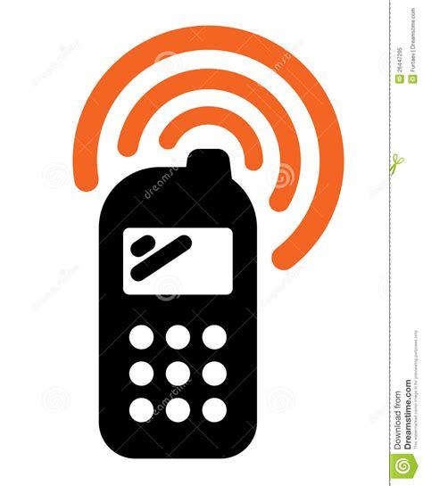 imagenes de telefonos sin fondo icono del tel 233 fono m 243 vil ilustraci 243 n del vector imagen de