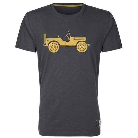 Tshirt Jeep 25 Alpha Industries Willys Jeep T Shirt In Grey