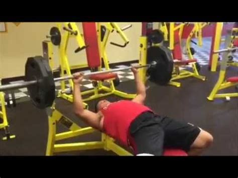 20 rep bench press dillon paprota bench press 225 x 20 reps sept of 2015