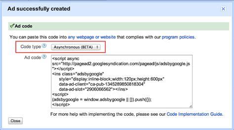 adsense javascript google adsense neuer code f 252 r asynchrones laden der