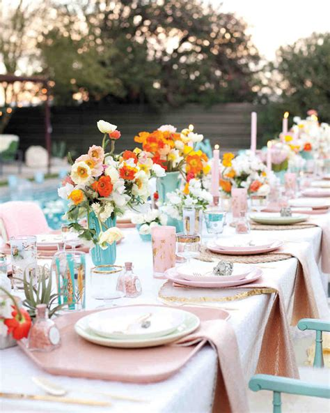 Wedding Reception Pictures by 42 Stunning Banquet Tables For Your Reception Martha
