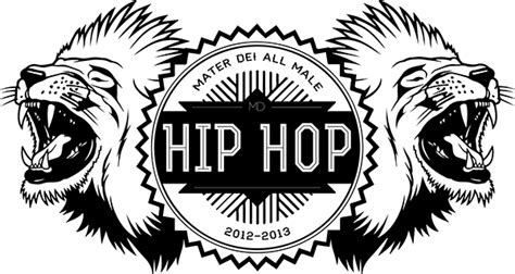 hip hop logo design logo mater dei high school all male hip hop on behance
