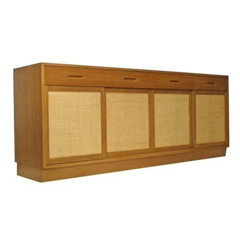 Dunbar Credenza dunbar credenza by edward wormley bleached mahogany woven 1950s for sale at 1stdibs