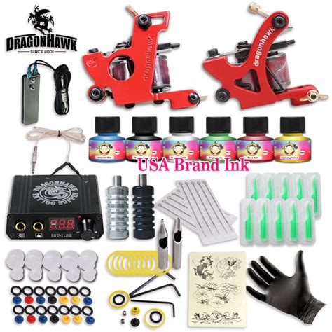 cheap tattoo kits free cheap kit complete 2 machines 6 colors