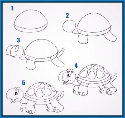 imagenes de tortugas faciles para dibujar dibujos f 225 ciles de amor a l 225 piz kawaii para dibujar