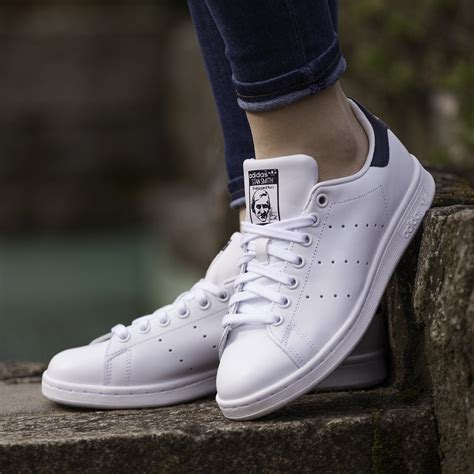 Adidas Stansmith Import adidas stan smith quot white navy quot m20325