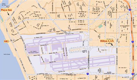 search in los angeles area map of lax airport area search engine at search
