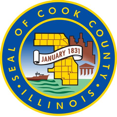 Records Cook County Il File Seal Of Cook County Illinois Svg