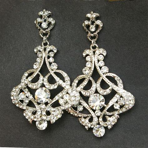 Wedding Chandelier Earrings Best 25 Bridal Chandelier Earrings Ideas On Deco Bridal Jewellery Wedding