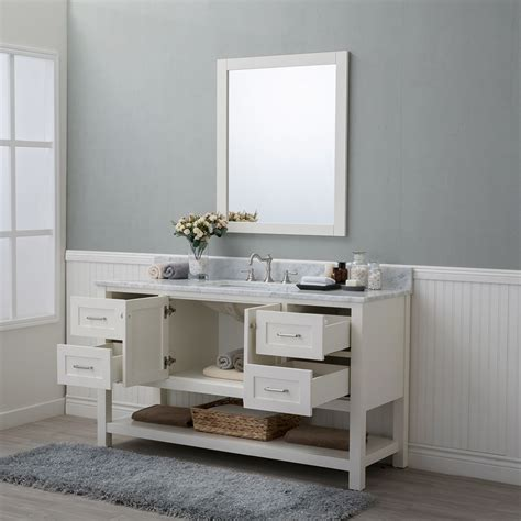 bathroom vanities wilmington nc alya bath wilmington 60 in single bathroom vanity in